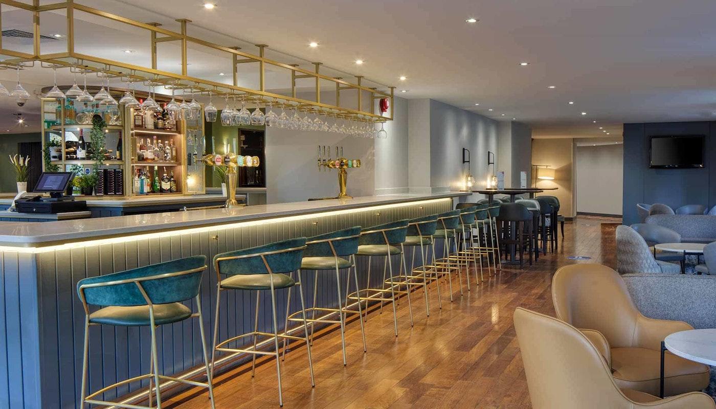 Grill bar at the Hilton Cobham