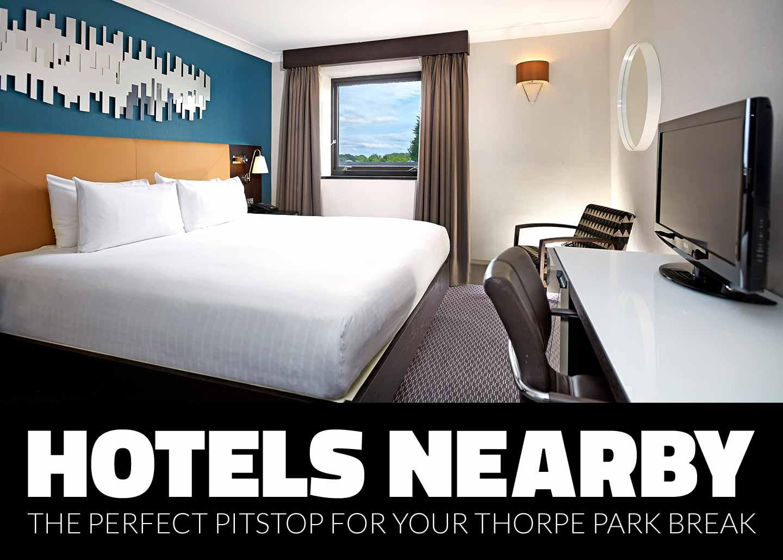 Partner hotels near to THORPE PARK Resort