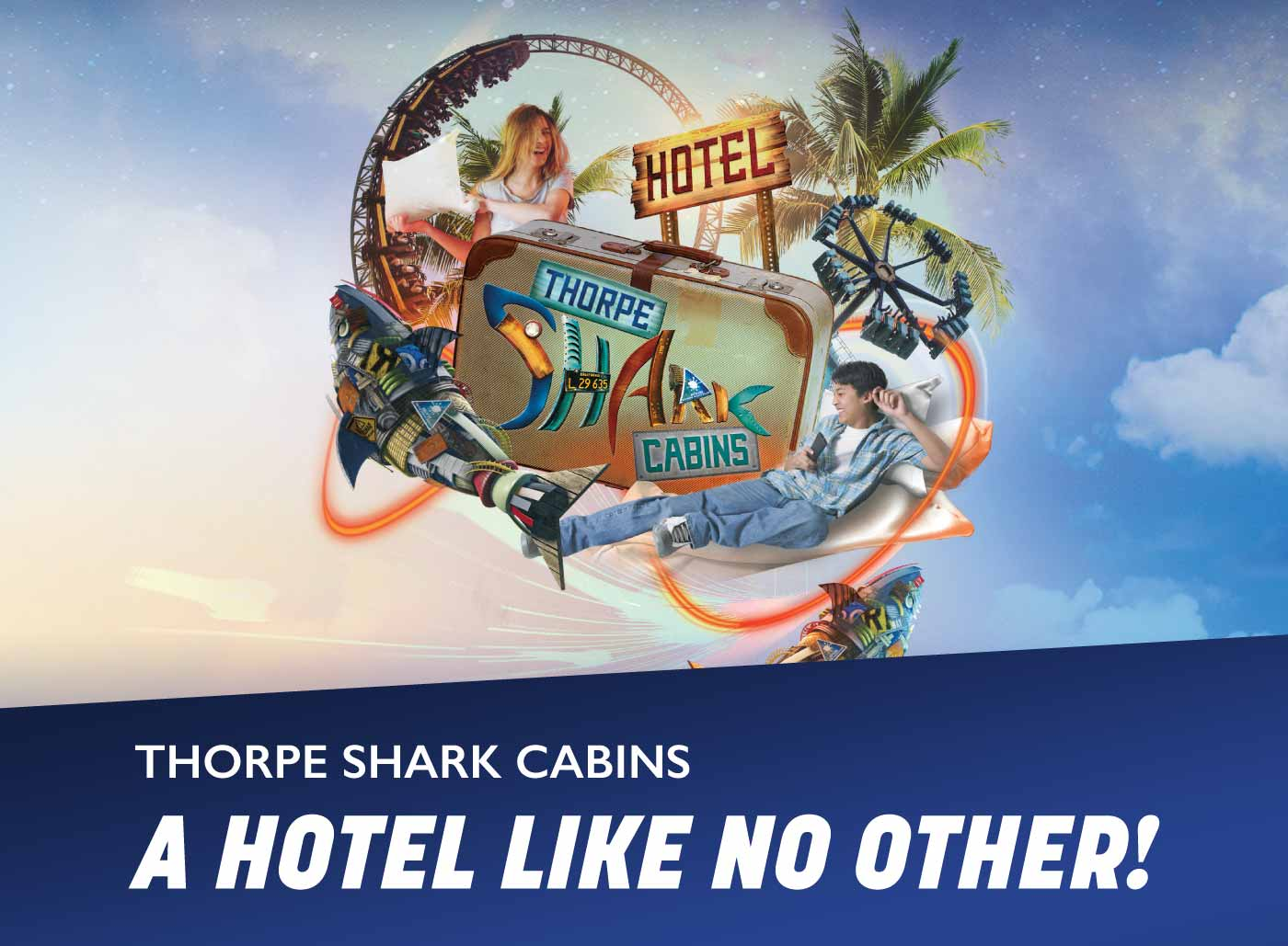 Thorpe Shark Cabins