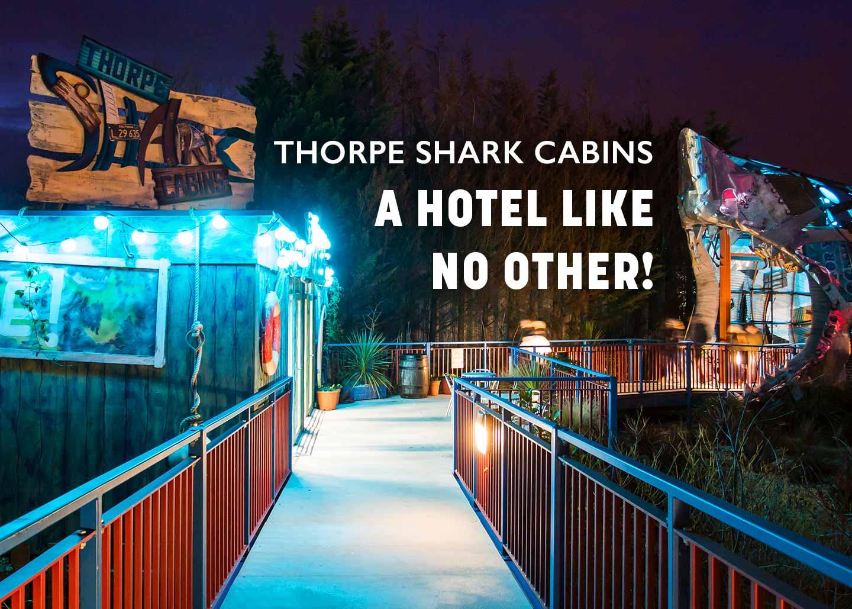 Thorpe Shark Cabins