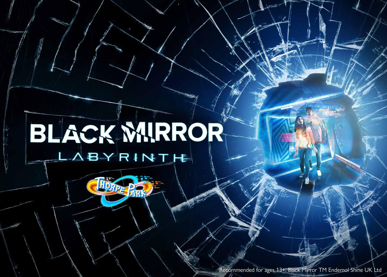 Black Mirror Labyrinth at Thorpe Park Resort