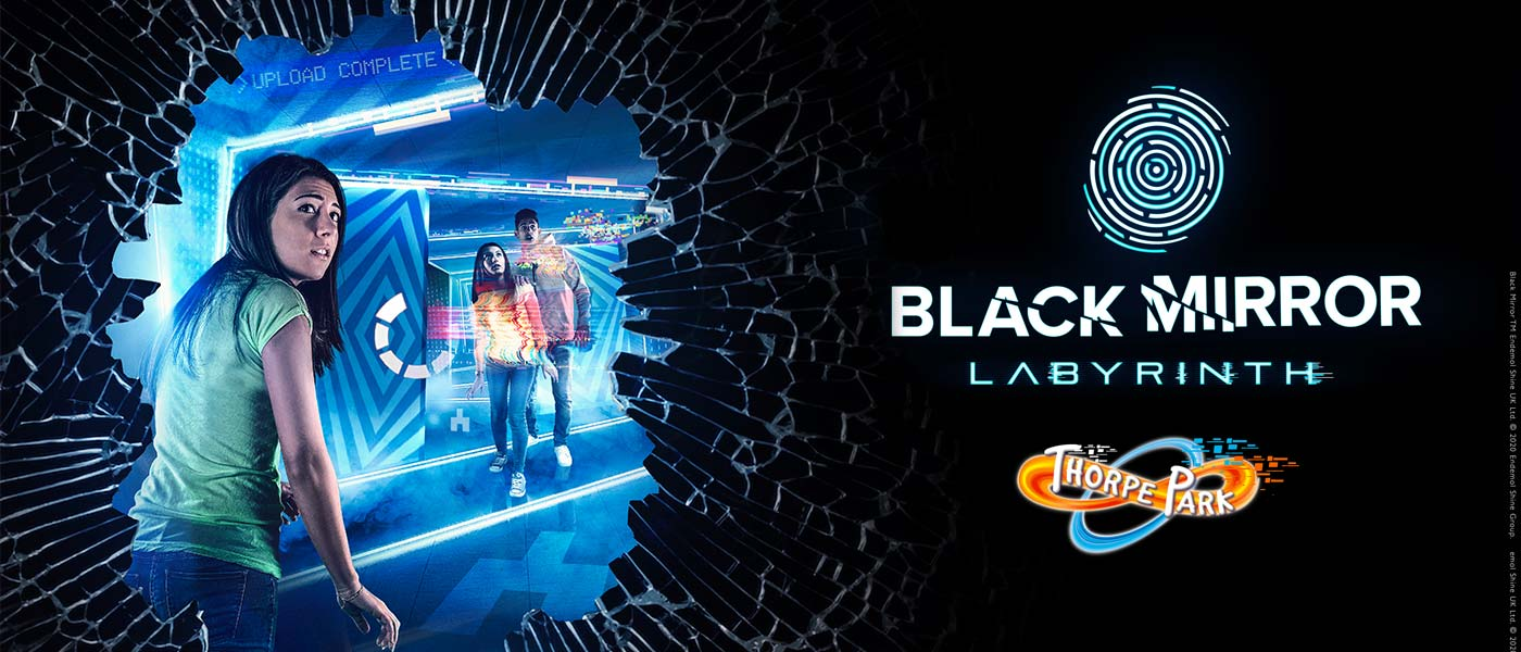 Black Mirror Labyrinth at THORPE PARK 2020