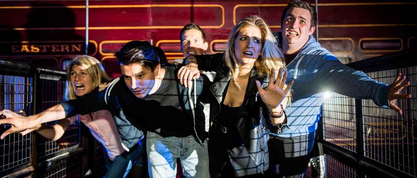 Derren Brown's Ghost Train at THORPE PARK Resort