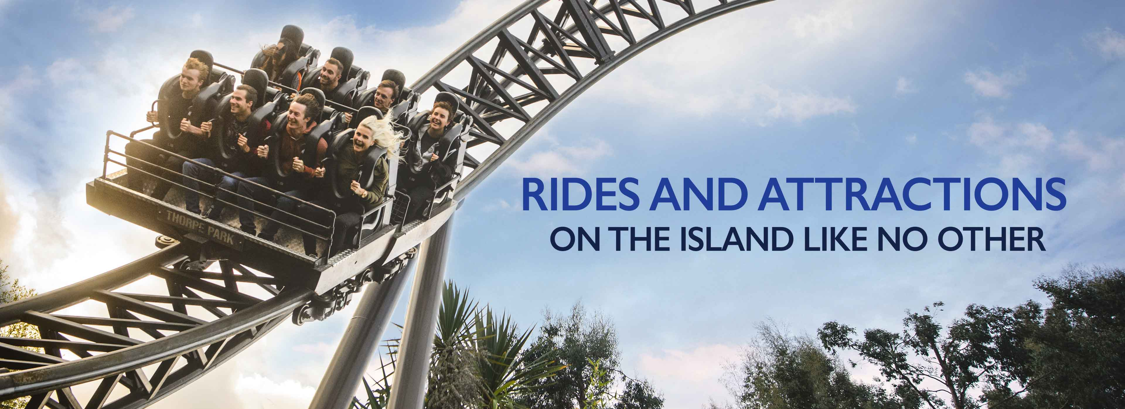 Thorpe Park rides and attractions
