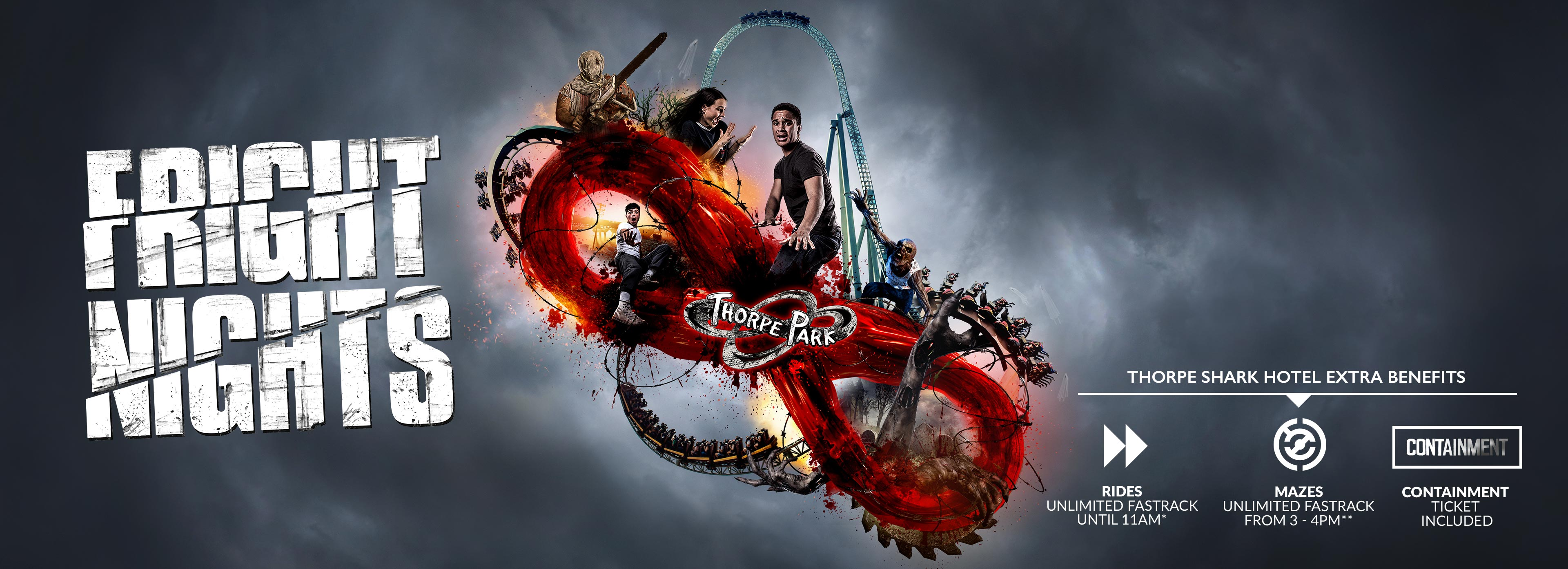 FRIGHT NIGHTS at THORPE PARK Resort