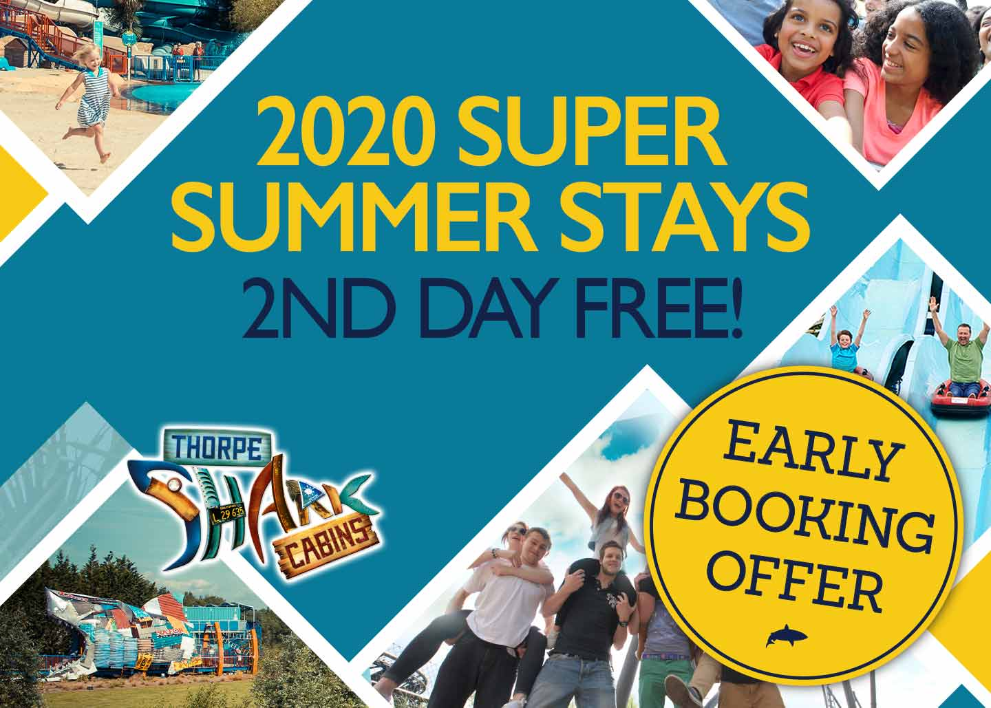 Summer Stays at Thorpe Park Resort