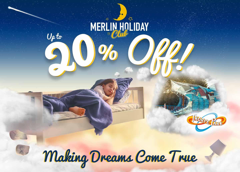 Merlin Holiday Club with Thorpe Breaks