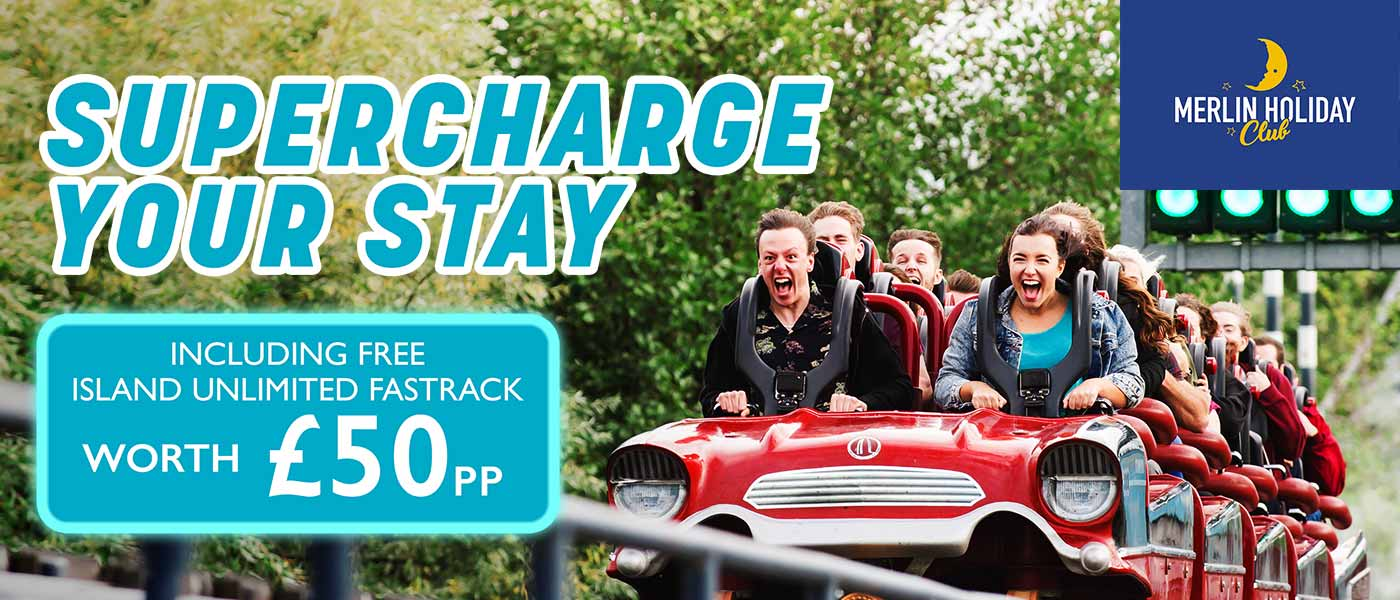 Supercharge your stay at Thorpe Park Resort
