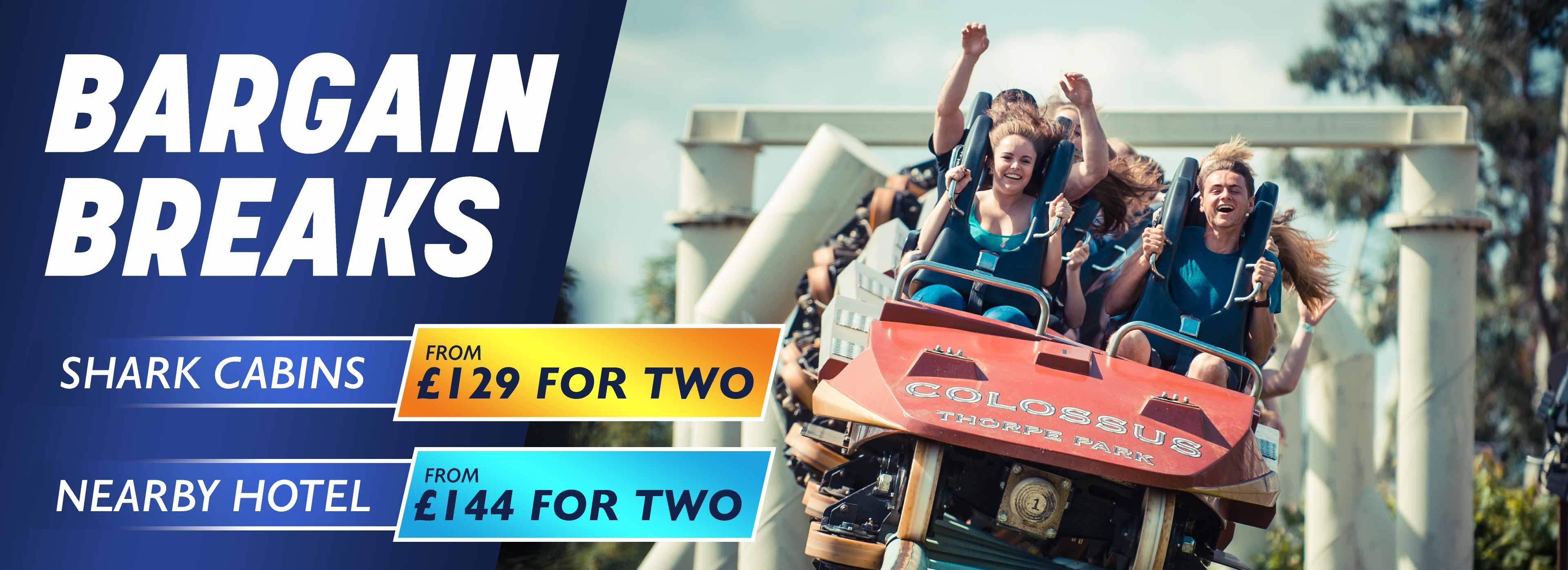 Bargain Midweek Breaks at Thorpe Park Resort!