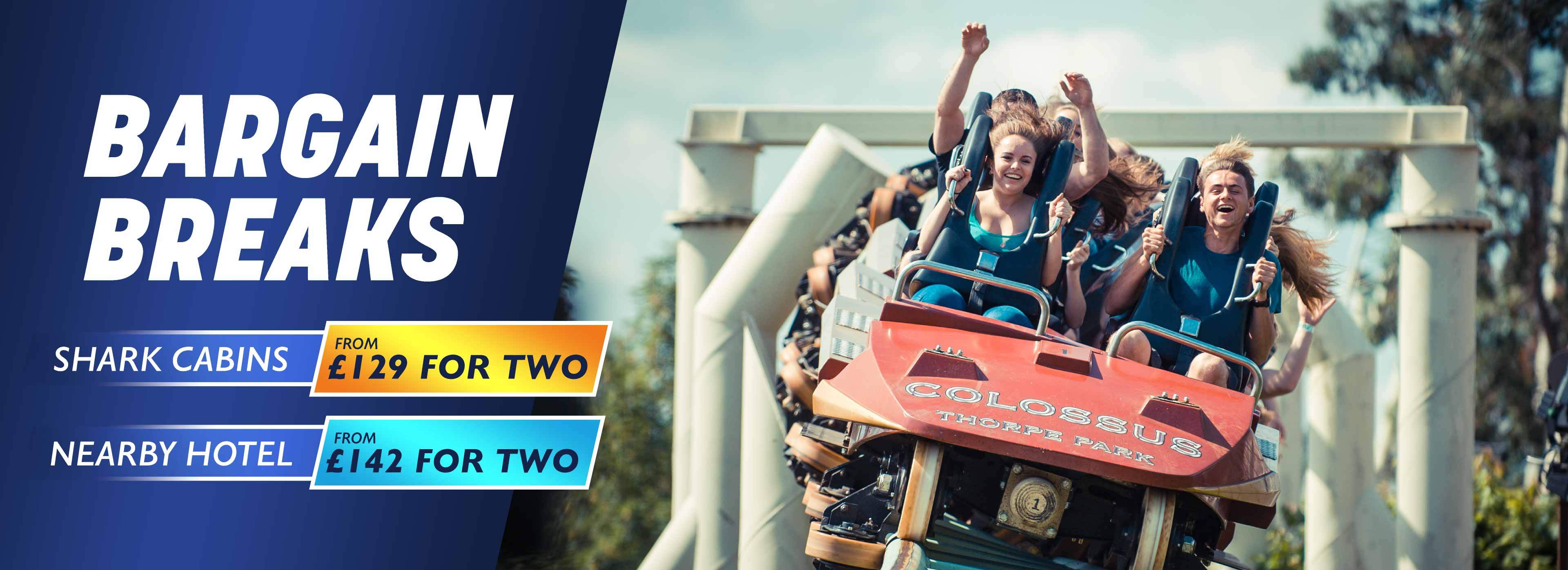 Thorpe Park Resort Midweek Breaks