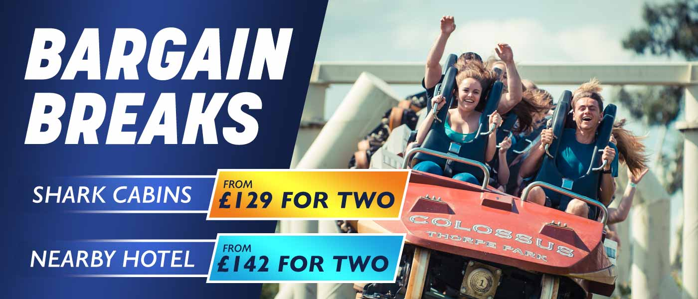 Bargain Midweek Breaks at Thorpe Park Resort