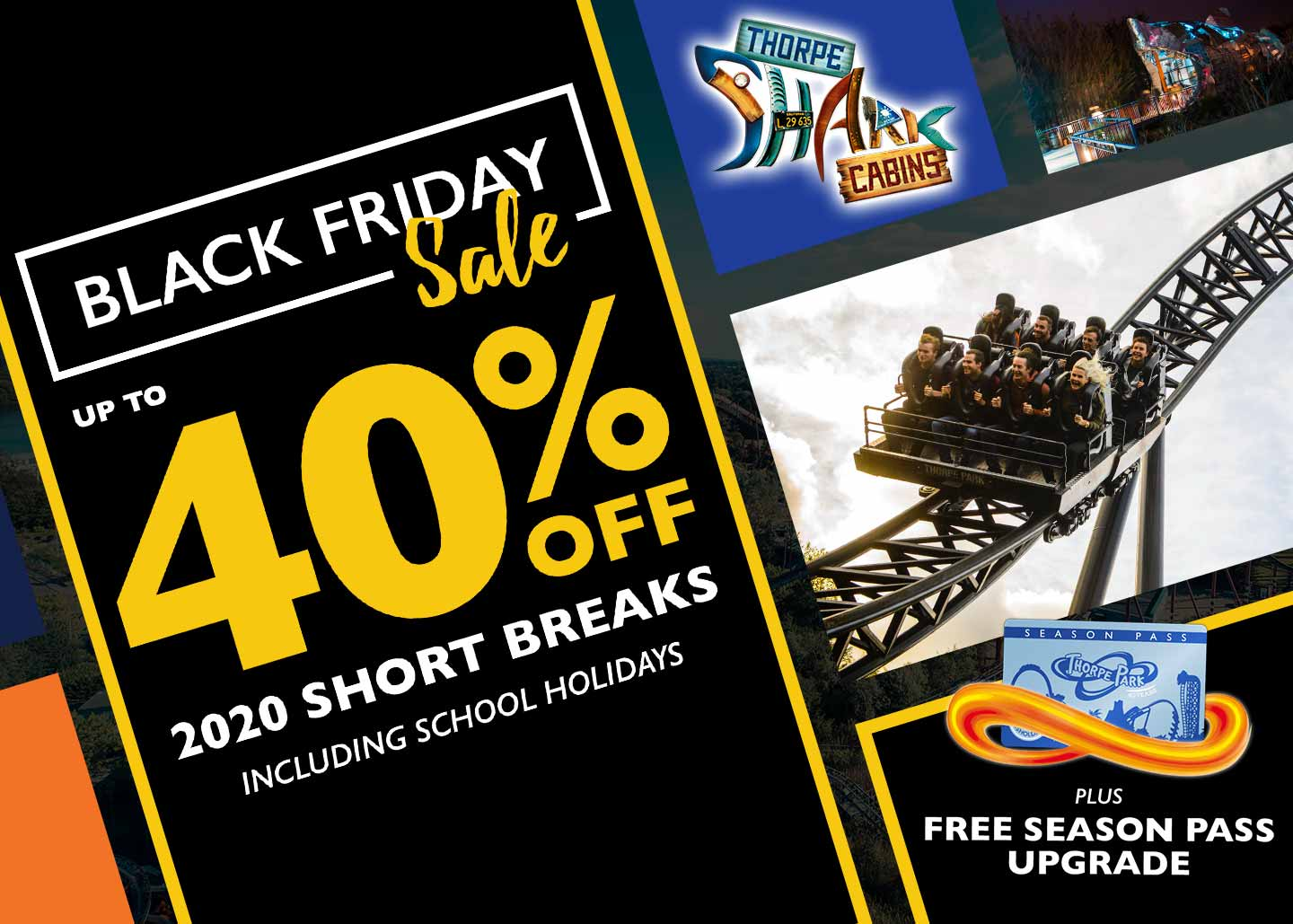 Thorpe Park Resort Early Booking Offer