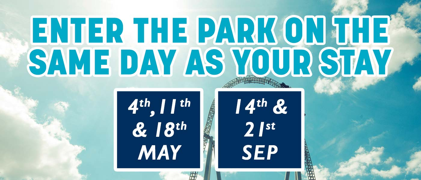 Same day Supercharge dates at Thorpe Park